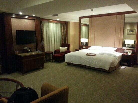 Crowne Plaza Nanjing Hotel & Suites: 套房