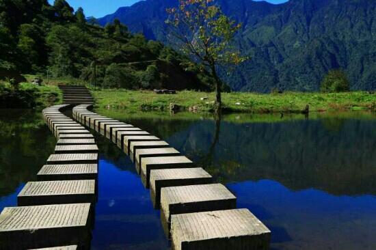 Ebian County, Çin: 黑竹沟-玛里冷觉风光2