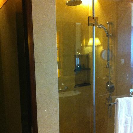 Shangri-La Hotel Chengdu: 淋浴