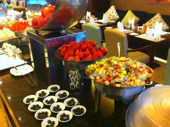 Shangri-La Hotel Chengdu: 豪华阁自助早餐