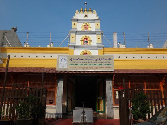 Sri Pogyatha Vinoyagar Moorthi Temple: 中国城里的印度庙