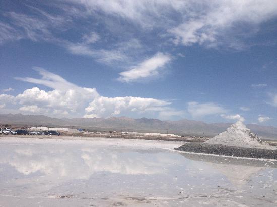 Chaka Salt Lake, Haixi: 茶卡盐湖