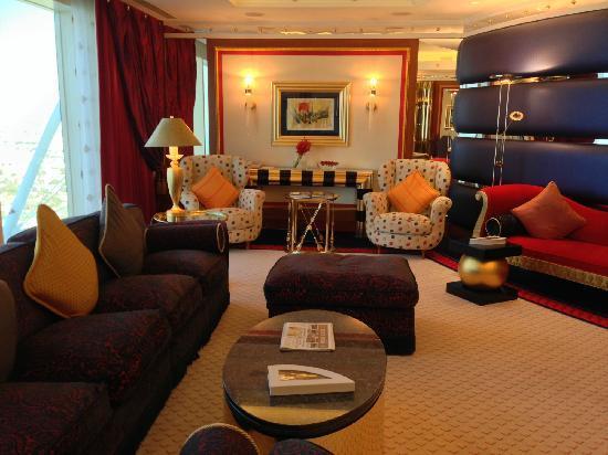 Burj Al Arab Jumeirah: 客厅