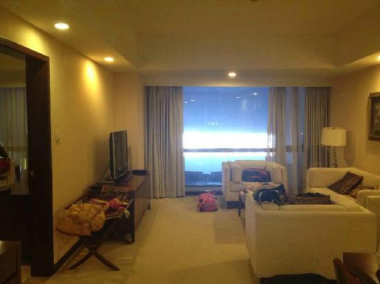 Joycity Hotel & Apartment: 客厅