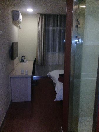 门口看房间