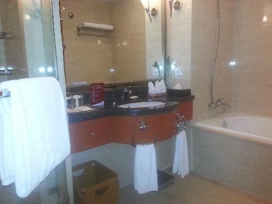 Crowne Plaza Wuhu : 卫生间