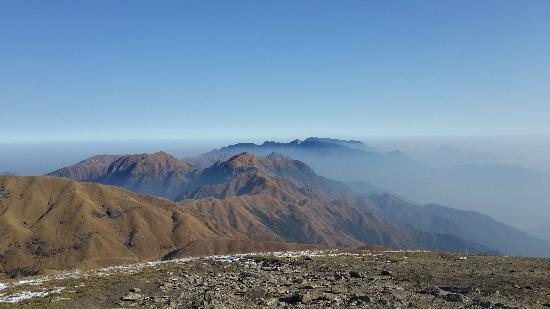 Wugong Mountain (Wu-kung) : 2013年12月29日上午10点左右,登顶金顶。