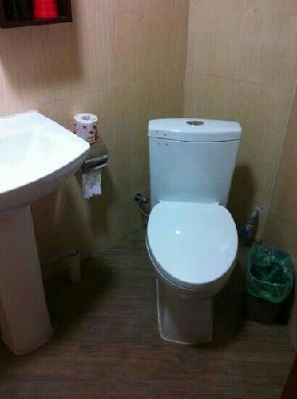 Tangguo Gelou Theme Hotel : 厕所