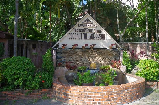 Coconut Village Resort : 门口