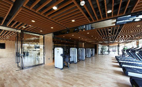 Lvdao International Hotel: 健身房