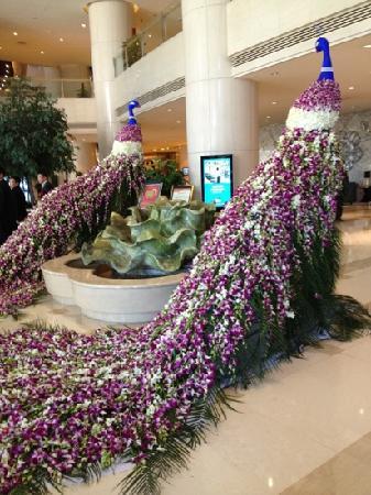 Zhongmao Haiyue Hotel : 美轮美奂的大堂