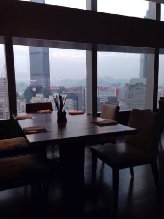 君悦酒店自助餐
