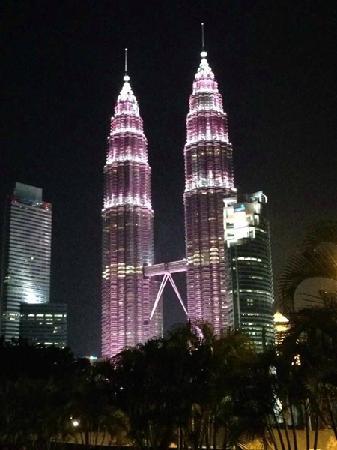 Shangri-La Hotel Kuala Lumpur : 双子塔 Twin-Tower
