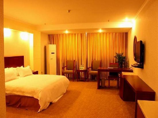 GreenTree Inn Nantong Textile City Bus Station Express Hotel: 客房