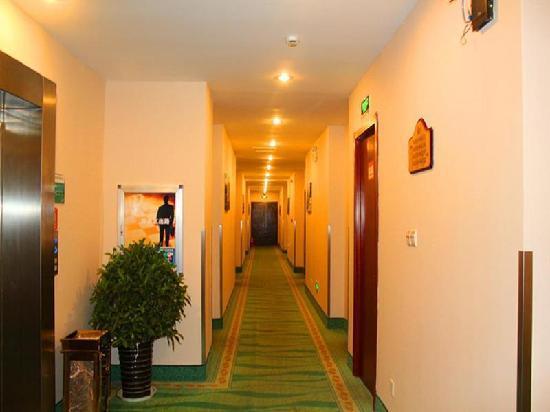 GreenTree Inn Nantong Textile City Bus Station Express Hotel: 走廊