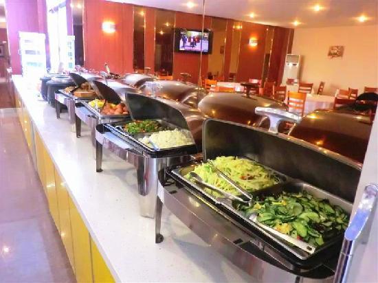 GreenTree Inn Nantong Textile City Bus Station Express Hotel: 早餐