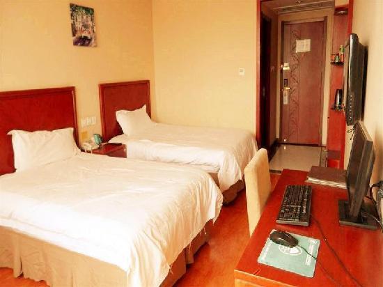 GreenTree Inn Shanghai Pudong Tangqiao Express Hotel: 客房