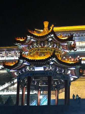 Jintai Taoist Abbey: 金台观夜景