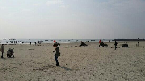 Qiaogang Resort Beach: 浴场