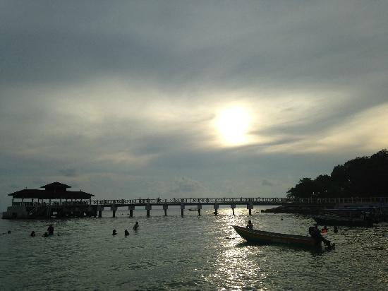 Shari-La Island Resort: 傍晚景色
