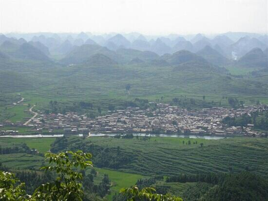 Anshun, China: 屯堡第一村--九溪