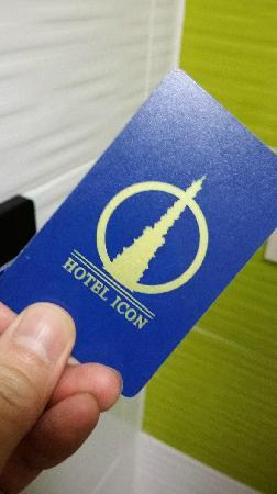 Hotel Icon: room key
