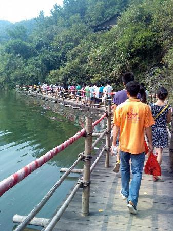 Lingchuan County, China: 古东景区