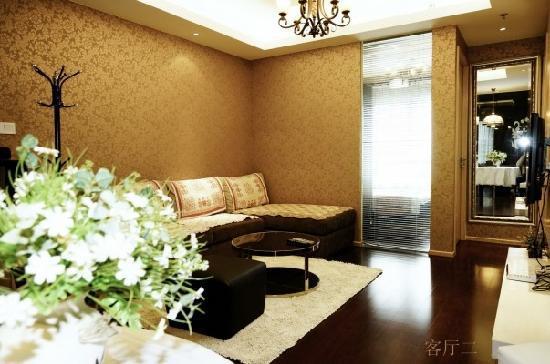 Zhongfang Service Apartment Nanjing Guancheng: 双卧客厅