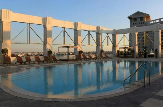 Four Seasons Hotel Amman : 泳池
