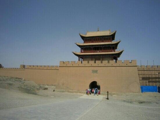 Jiayuguan Fortress: 空旷