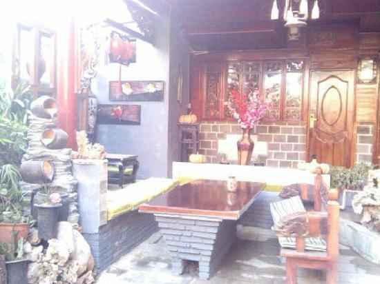 Li's Inn: 烧烤区