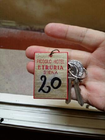 Piccolo Hotel Etruria: 放牌
