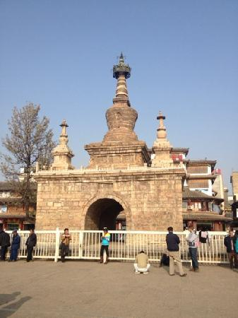Kingkong Tower, Miaozhan Temple
