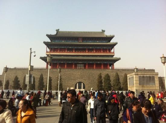 Qianmen (Zhengyangmen) : 京城的正门,也是京师九门中唯一保存完整的。