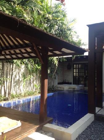 Villa de daun: 私密的泳池