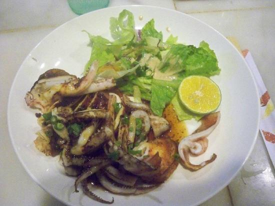 Himawari: 烤鱿鱼