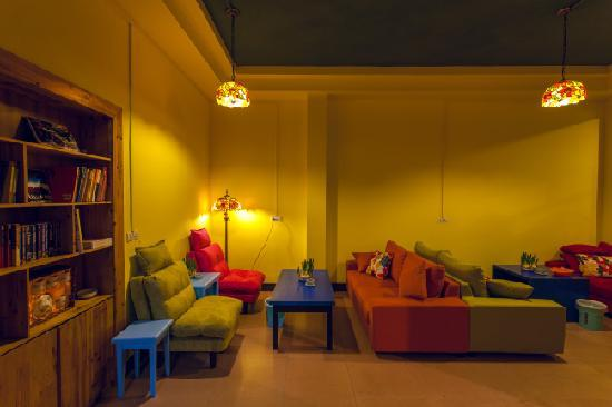 Youjian Hostel: 休息区