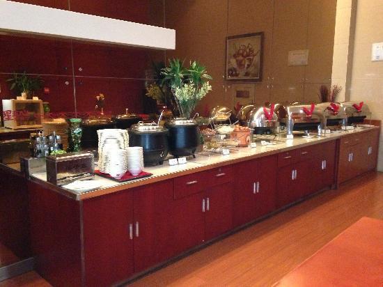 Jinjiang Inn Hai'an Renmin West Road : 一天的活力从营养早餐开始