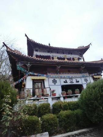 China Lake House : 泸沽湖边