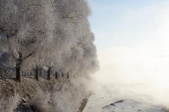 Songhua Lake: 雾凇