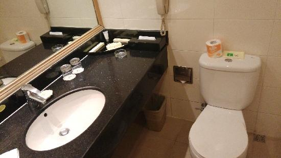 Hotel Nikko New Century Beijing : 卫生间一景
