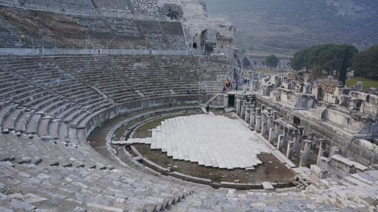大剧院 Bild Von Efes Antik Kenti Tiyatrosu Selcuk Tripadvisor