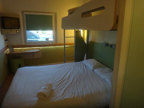 Hotel ibis budget Southampton Centre: 房间