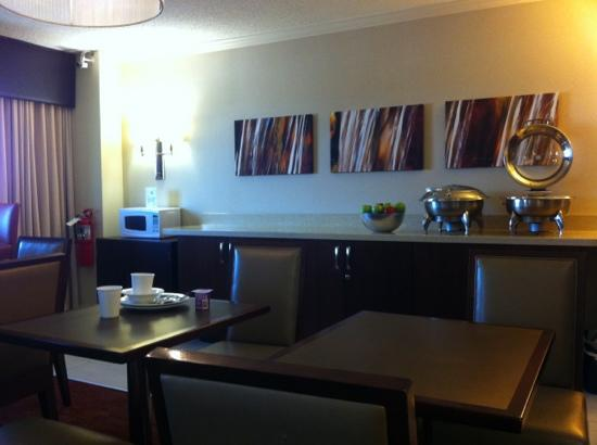 Sheraton Edison Hotel Raritan Center: club lounge