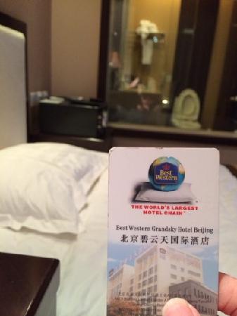 BEST WESTERN Grandsky Hotel Beijing : 单人房