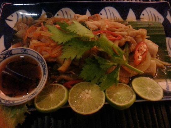 Amok Restaurant: 洞里萨湖鱼