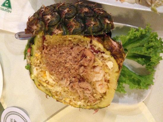 Rosabieng Restaurant : 菠萝饭