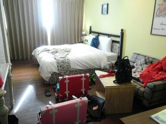 Smokey Joes Hotel : 房间