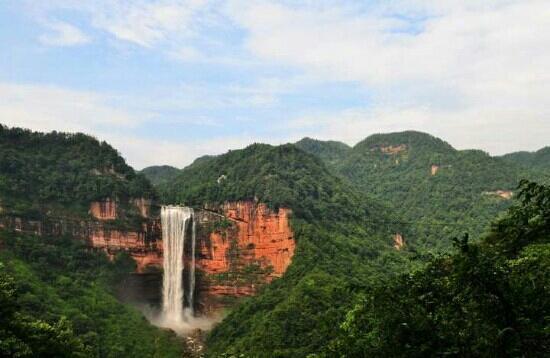 Simian Mountain: 重庆江津四面山天下第一心