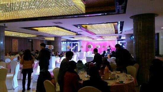 Jiannanchun Hotel : 宴会大厅婚礼现场